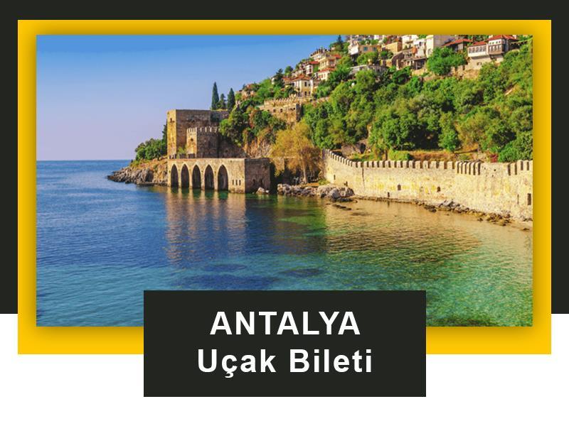 Antalya Uçak Bileti İletişim